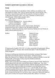 Toimintakertomus 2010-2011 - Suomen Lions-liitto ry