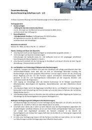 Zusammenfassung Baurechtsvertrag Schulhaus Juch 1/3