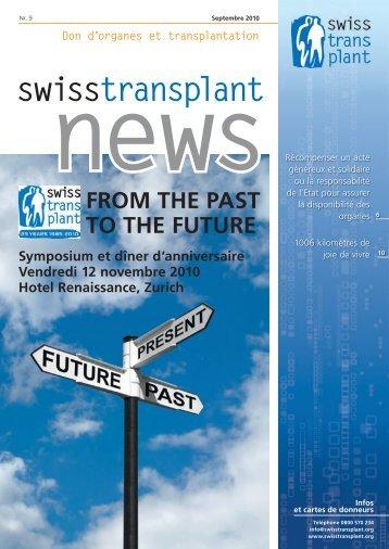 news - Swisstransplant