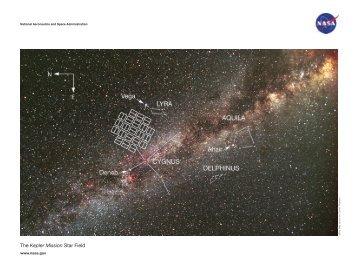 The Kepler Mission Star Field - Kepler - NASA