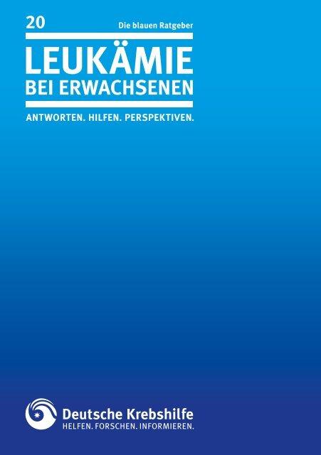 leukämie - Deutsche Krebshilfe eV