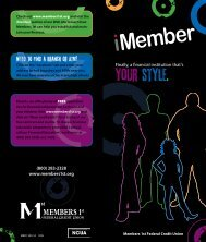 your style. - Members 1st Federal Credit Union