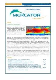 Newsletter 19 - Mercator Océan