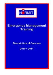 Emergency Management Training - Normit