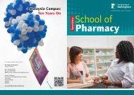 PharmacyNewsletter2011 - The University of Nottingham, Malaysia ...