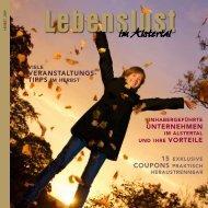 Herbst 2009 - lebenslust-imalstertal.de