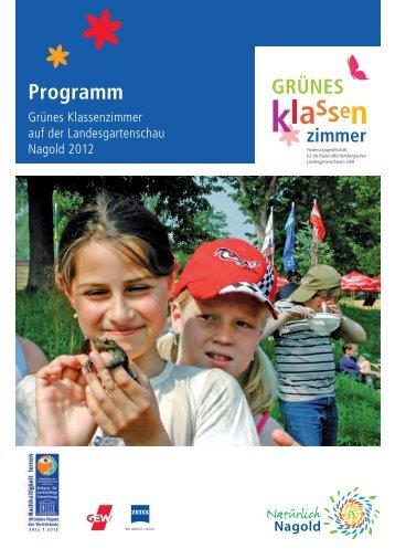 Programm - Landesgartenschau Nagold