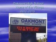 Students - Oakmont High School