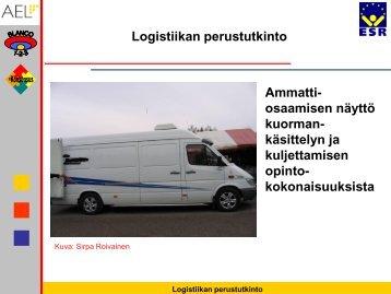 Logistiikka