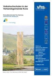 Volkshochschulen in der Verbandsgemeinde Konz