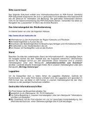 Mechatronik - im PDF Format - Fakultät für Maschinenbau