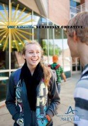 UNC Asheville Viewbook - CASE