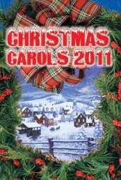 Christmas Carols 201.. - Reid & Associates Specialty Advertising Inc.