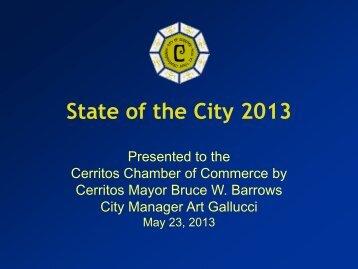PDF - City of Cerritos