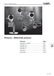 Pressure – Differential pressure
