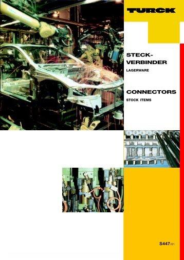 STECK- VERBINDER CONNECTORS
