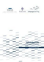 Gerling Responsibility Fonds - Samuel Begasse