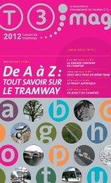 De A à Z : tout savoir sur le tramway - amutc