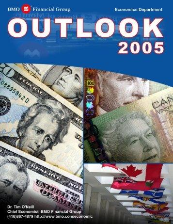 BMO Financial Group - Outlook 2005(1.1Mb pdf File) - Boardwalk REIT