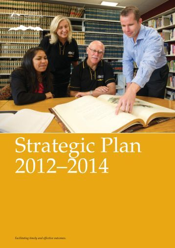 Tribunal Strategic Plan 2012-2014 - National Native Title Tribunal