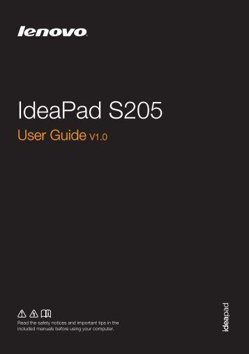 S205 User Guide V1.0 EN - Lenovo