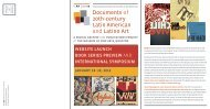 Documents of 20th-century Latin American and Latino Art - The ...