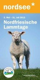Veranstaltungen - Nordfriesische Lammtage