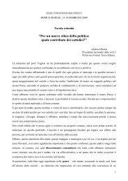 Intervento di Andrea Olivero - Azione Cattolica Italiana