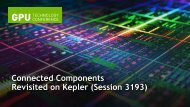 Connected Components Revisited on Kepler | GTC 2013