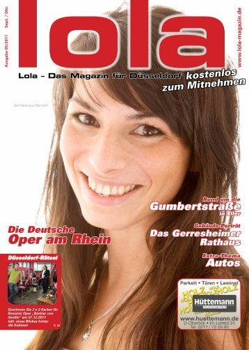 2011-09 - lola - Das Magazin für Düsseldorf