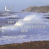 programbog 2011.indd - Thy Chamber Music Festival