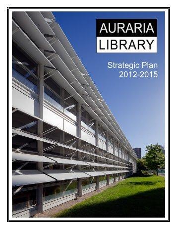 Strategic Plan 2012-2015 - Auraria Library