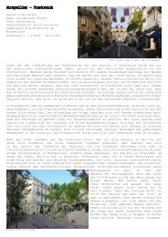 Montpellier - Frankreich - Fakultät für Architektur und Landschaft