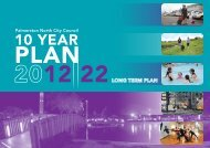 10 Year Plan/Annual Plans - Palmerston North City Council
