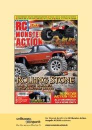 Der folgende Bericht ist in RC-Monster-Action, Ausgabe 01 ... - Kyosho