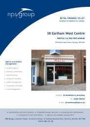 38 Earlham West Centre Norwich - NPS