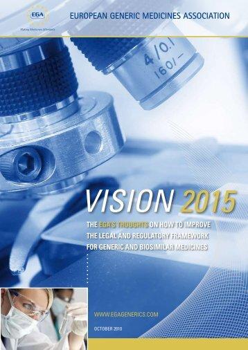 the EGA Vision 2015