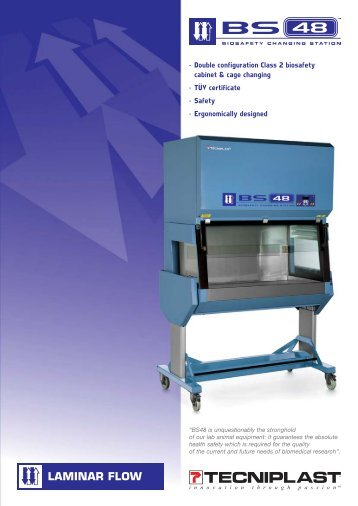 • Double configuration Class 2 biosafety cabinet ... - Sapaco 2000