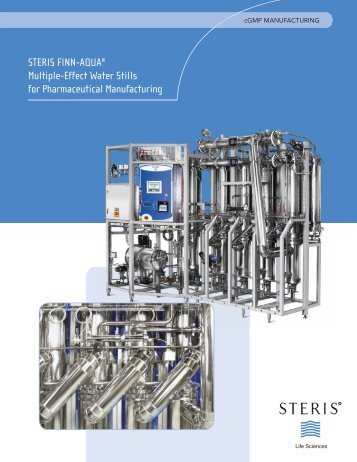 STERIS FINN-AQUA Multiple-Effect Water Still - interp.co.il | אינטרפרוסס