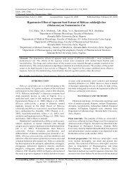 Hypotensive Effect of Aqueous Seed Extract of Hibiscus sabdariffa ...