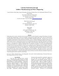 CubeSat Fabrication through Additive ... - Cosmiacpubs.org