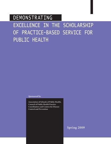 Demonstrating Excellence Series - School of Rural Public Health ...
