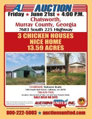 3 CHICKEN HOUSES NICE HOME 13.59 ACRES - Auctions United