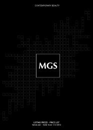 Contemporary Beauty - MGS