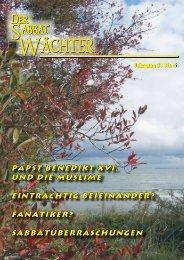 Jahrgang 81 Nr. 6 - Reformierte Siebenten-Tags-Adventisten in ...