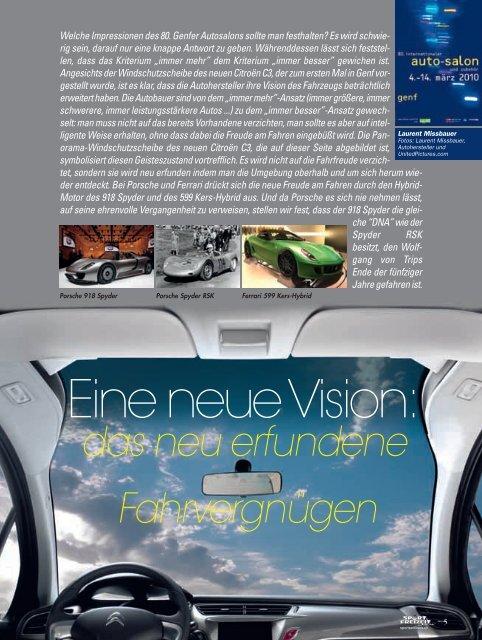 Genfer Autosalon - Magazine Sports et Loisirs
