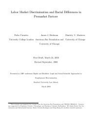 Labor Market Discrimination and Racial Differences in Premarket ...
