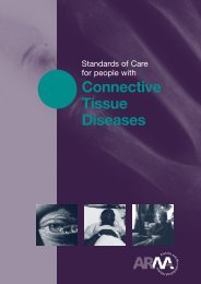 Connective Tissue Diseases - The Arthritis and Musculoskeletal ...