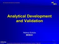 Analytical Development and Validation - BEBAC • Consultancy ...