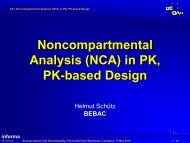 Noncompartmental Analysis (NCA) - BEBAC • Consultancy Services ...